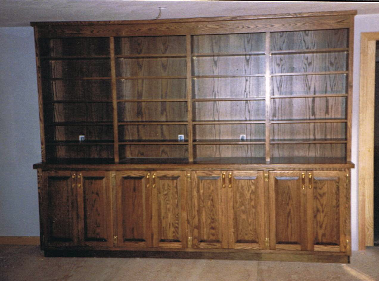 J I Murphy & Co Custom Woodworking - Built-in Cabinetry